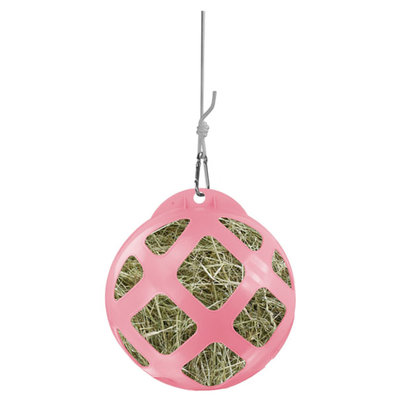 Hay Slowfeeder roze diam. 40 cm kunststof