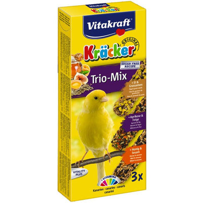 Vitakraft Kanarie Kracker Honing/Fruit/Ei  3 in 1