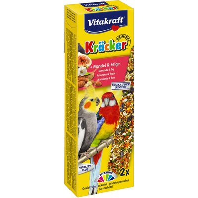 Vitakraft Valkparkiet Kracker Fruit 2 in 1