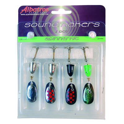 ALB.SOUNDM.SPINKIT 4 PCS