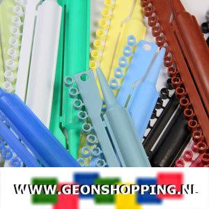 Split PVC ringen 3 mm per kleur