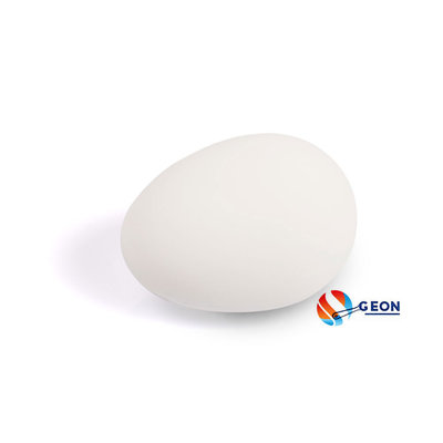 Rubber nest-ei wit 56mm