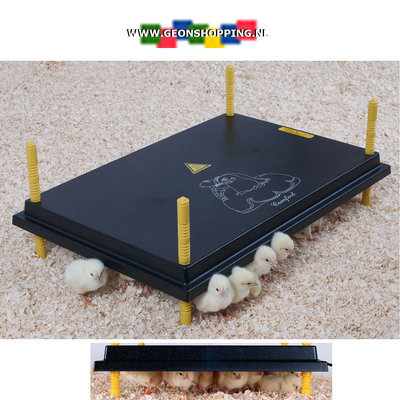 'Comfort' warmteplaat 40x60cm voor kuikens