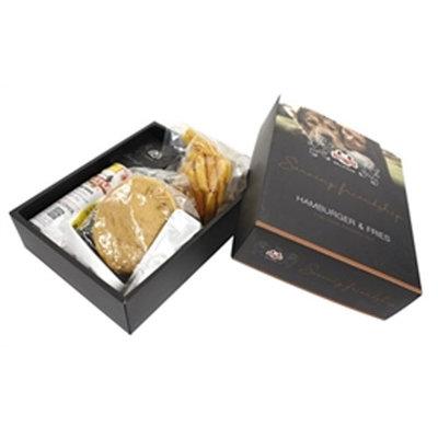 Snuffle hamburger en patat box