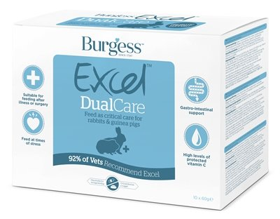Burgess excel dual care konijnenvoer