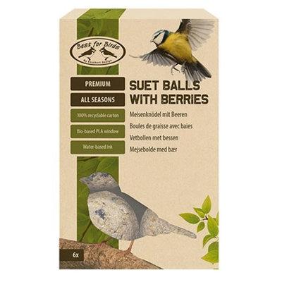 Best for birds vetbollen met bessen