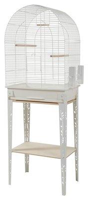 Zolux vogelkooi patio met standaard wit