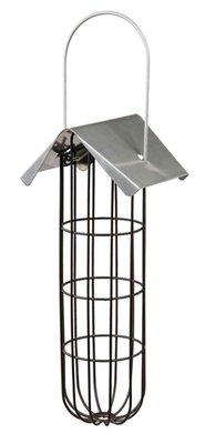 Trixie mezenbollenhouder met dak 4 bollen metaal zwart