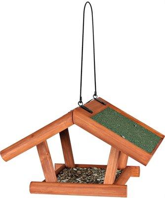 Trixie natura voederhuis hangend grenenhout bruin