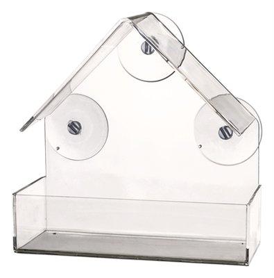 Trixie raamvoederhuis transparant