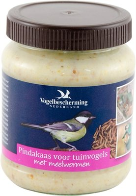 Vogelpindakaas+meelworm