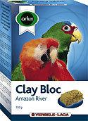 Clay blok Amazon river