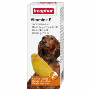 Beaphar Vitamine E tarwekiemolie 100 ml.