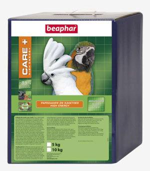 Beaphar Care+ papegaai/kaketoes high energy 5 kg.