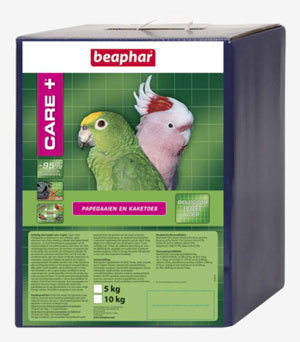Beaphar Care+ papegaai/kaketoes 5 kg.