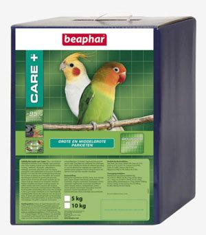 Beaphar Care+ grote/middel grote parkieten 5 kg