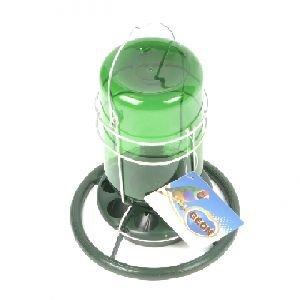 Mijnlamp Plastiek (Groen) 10x18 cm.