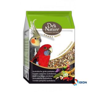 Deli Nature 5* menu australische grote parkiet 2.5 kg.