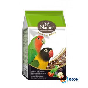 Deli Nature 5* menu afrikaanse grote parkiet 2.5 kg.