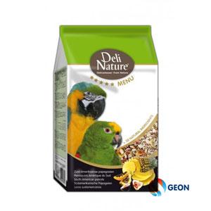 Deli Nature 5* menu zuid-amerikaanse papegaai 2.5 kg.