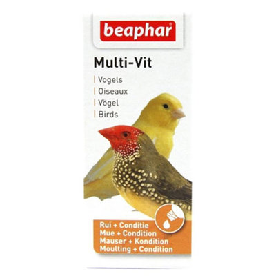Beaphar Multi-Vit vogel 20 ml.