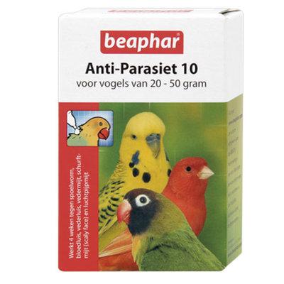 Beaphar anti-parasiet 10 vogel 20-50g