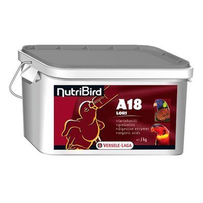 NutriBird A18 Lori 3 kg.