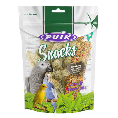 Puik snacks Snack&speel mix natuur 1x4 pcs.