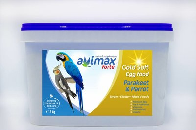 AviMax Forte Gold Soft Gr. Parkiet & Papegaai