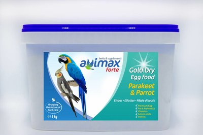 AviMax Forte Gold Dry Grote Parkiet & Papegaai