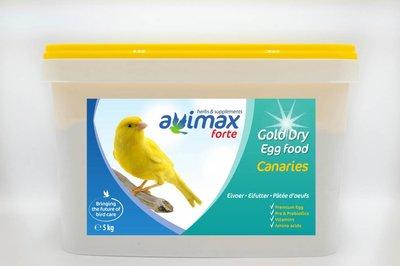 AviMax Forte Gold Dry Kanarie